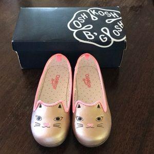 NIB Osh Kosh Kitty Shoes